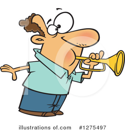 Trumpet Clipart #1275497 by toonaday