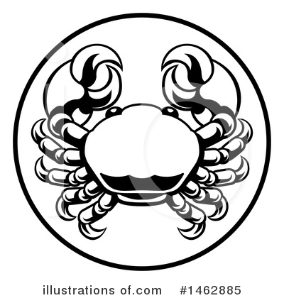 Crab Clipart #1462885 by AtStockIllustration