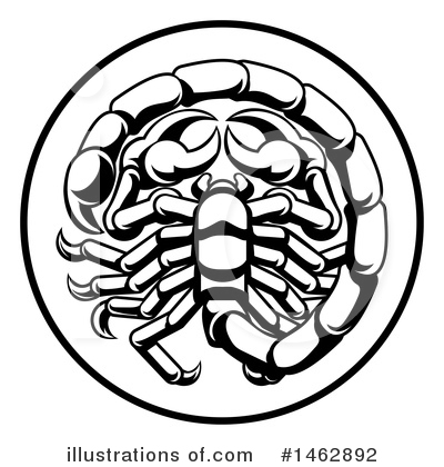Scorpion Clipart #1462892 by AtStockIllustration