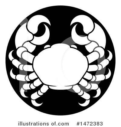 Crab Clipart #1472383 by AtStockIllustration