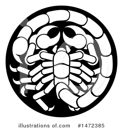 Scorpion Clipart #1472385 by AtStockIllustration
