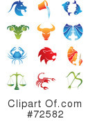 Royalty-Free (RF) Horoscope Clipart Illustration #72582