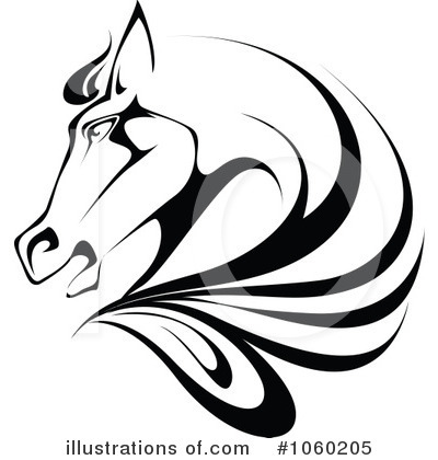 Equestrian Clipart #1060205 by Vector Tradition SM