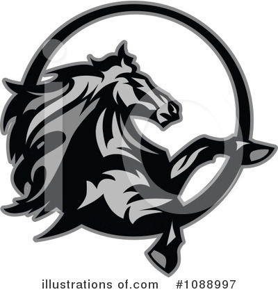 Horse Clipart #1088997 by Chromaco