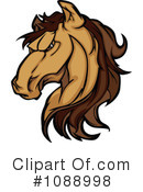 Royalty-Free (RF) horse Clipart Illustration #1088998