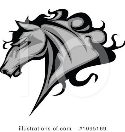 Horse Clipart #1095169 by Chromaco