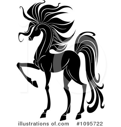 Horse Clipart #1095722 by Vector Tradition SM