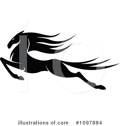 Horse Clipart #1097884 by Vector Tradition SM