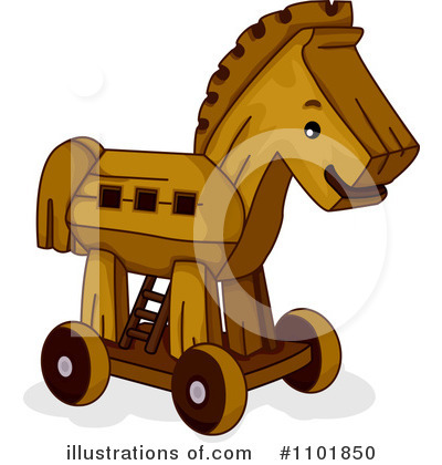 Royalty-Free (RF) Horse Clipart Illustration by BNP Design Studio - Stock Sample #1101850