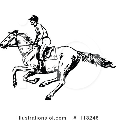 Horse Clipart #1113246 by Prawny Vintage