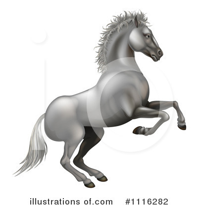 Horse Clipart #1116282 by AtStockIllustration