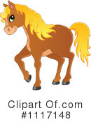 Royalty-Free (RF) Horse Clipart Illustration #1117148