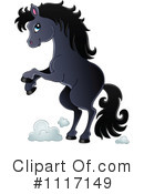 Royalty-Free (RF) Horse Clipart Illustration #1117149