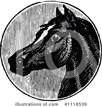 Horse Clipart #1118539 by Prawny Vintage