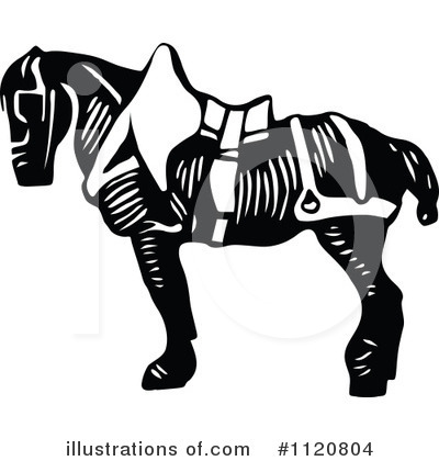 Horse Clipart #1120804 by Prawny Vintage