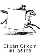 Horse Clipart #1135198 by Prawny Vintage