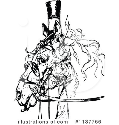 Horse Clipart #1137766 by Prawny Vintage