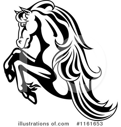 Horse Clipart #1161653 by Vector Tradition SM