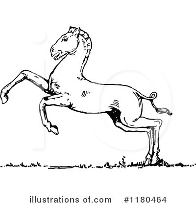 Horse Clipart #1180464 by Prawny Vintage