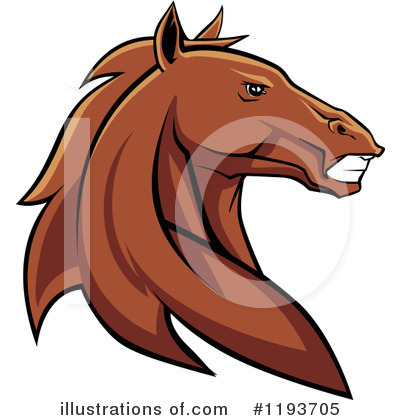 Horse Clipart #1193705 by Vector Tradition SM