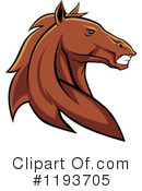 Royalty-Free (RF) Horse Clipart Illustration #1193705