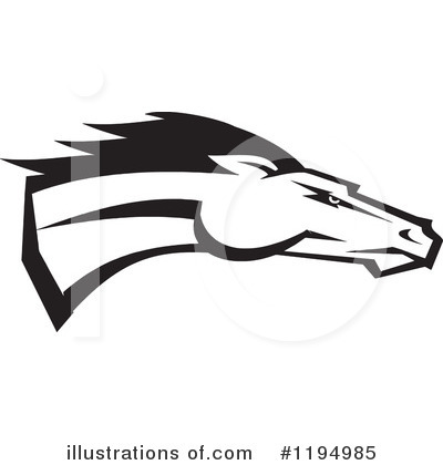 Royalty-Free (RF) Horse Clipart Illustration by Johnny Sajem - Stock Sample #1194985