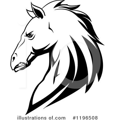 Horse Clipart #1196508 by Vector Tradition SM