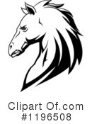 Royalty-Free (RF) Horse Clipart Illustration #1196508