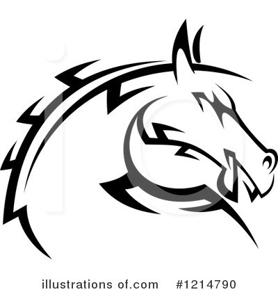 Horse Clipart #1214790 by Vector Tradition SM