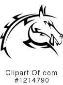 Royalty-Free (RF) Horse Clipart Illustration #1214790