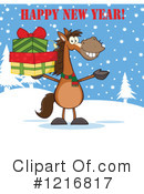 Horse Clipart #1216817 by Hit Toon