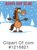 Horse Clipart #1216821 by Hit Toon
