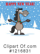 Horse Clipart #1216831 by Hit Toon