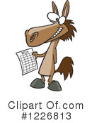Horse Clipart #1226813 by toonaday