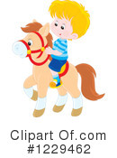 Horse Clipart #1229462 by Alex Bannykh