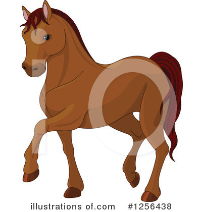 Horse Clipart #1256438 by Pushkin