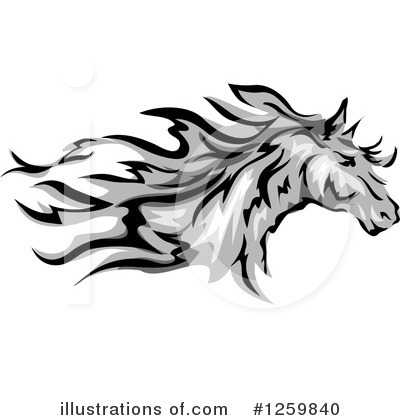 Horse Clipart #1259840 by BNP Design Studio