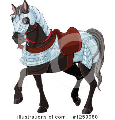 Horse Clipart #1259980 by Pushkin