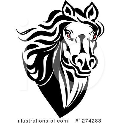 Horse Clipart #1274283 by Vector Tradition SM
