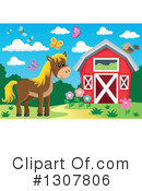 Horse Clipart #1307806 by visekart