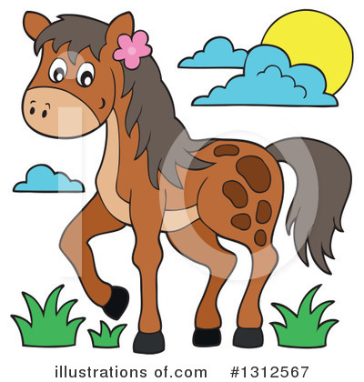 Horse Clipart #1312567 by visekart