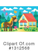 Horse Clipart #1312568 by visekart