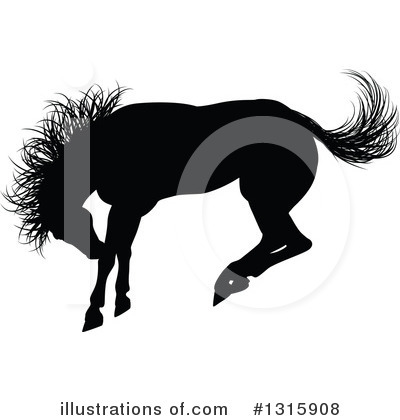 Rodeo Clipart #1315908 by AtStockIllustration