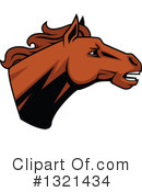 Royalty-Free (RF) Horse Clipart Illustration #1321434
