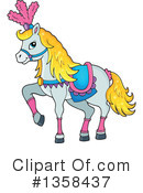 Royalty-Free (RF) Horse Clipart Illustration #1358437