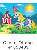 Royalty-Free (RF) Horse Clipart Illustration #1358439
