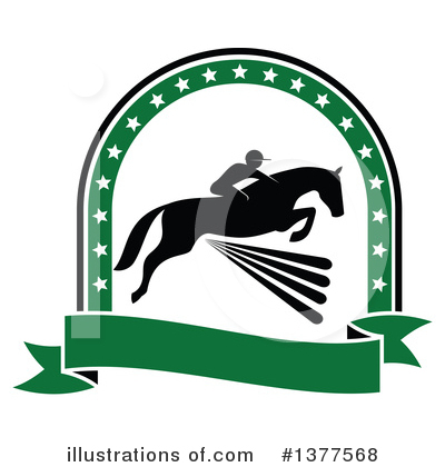 Equestrian Clipart #1377568 by Vector Tradition SM