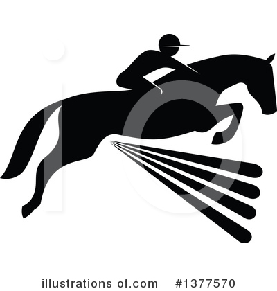 Equestrian Clipart #1377570 by Vector Tradition SM