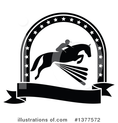 Equestrian Clipart #1377572 by Vector Tradition SM