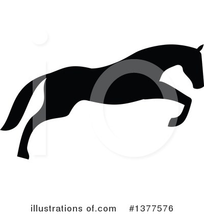 Equestrian Clipart #1377576 by Vector Tradition SM